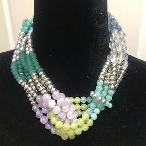 Anthropolgie Chunky Costume Jewelry Neckla…